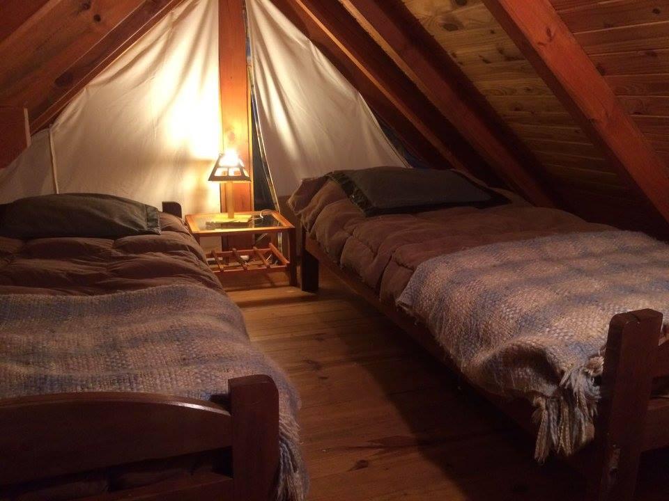 Foto interior cabana